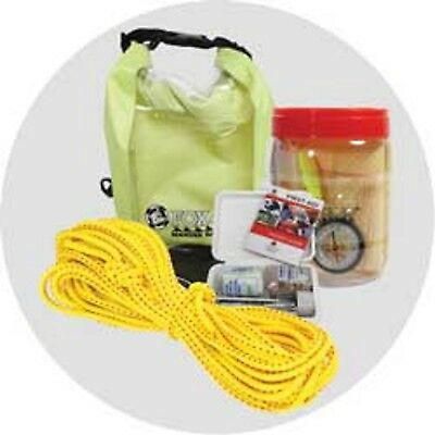 Boat Kayak Canoe Safety Equipment Kit  Paddlers Safety Pack Rescue and First Aid