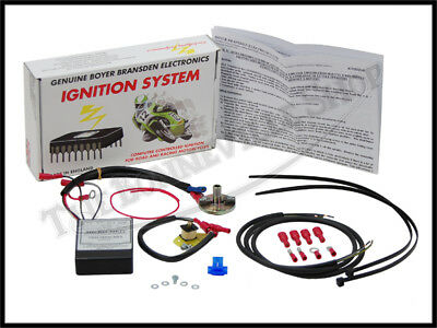 BSA SINGLE CYL. DISTRIBUTOR MODEL 12v MKIV BOYER IGNITION KIT 59 PN# TBS-3549