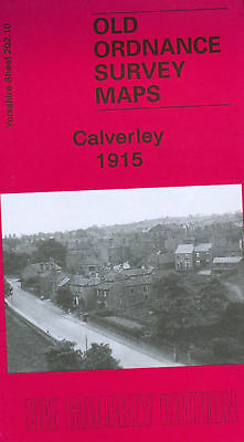 Old Ordnance Survey Map Calverley 1915