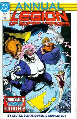 Legion of Super-Heroes (1984) Annual #2 VF STOCK IMAGE