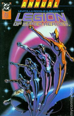 Legion of Super-Heroes (1984) Annual #3 VF STOCK IMAGE