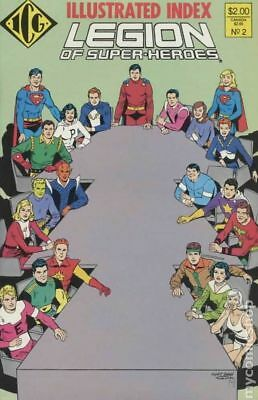 Legion of Super-Heroes Index (1986) Official #2 NM STOCK IMAGE
