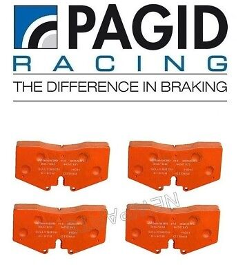 For Porsche 911 Carrera 4S Rear Disc Brake Pad Set Orange PAGID RACING 995541532