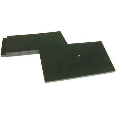 3 72 Slot Black Foam Ring Display Tray Inserts