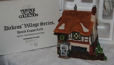 Department 56 Dickens Village Series David Copperfield Betsy Trotwood's Cottage