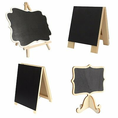 Mini Chalkboard Blackboard Memo Sign Parties Pubs Kitchen Office Home Table