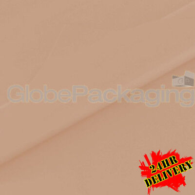 1000 SHEETS OF PEACH COLOURED ACID FREE TISSUE PAPER 375mm x 500mm *QUALITY*