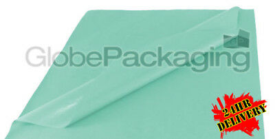 1000 SHEETS OF BABY BLUE COLOURED ACID FREE TISSUE PAPER 375 x 500mm *24HR DEL*