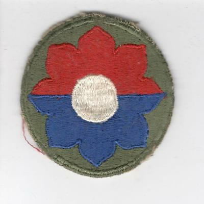 WW 2 US Army 9th Infantry Division Patch Inv# Y983