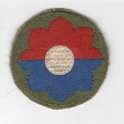 WW 2 US Army 9th Infantry Division Patch Inv# Y986