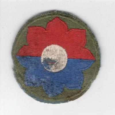 WW 2 US Army 9th Infantry Division Patch Inv# Y987