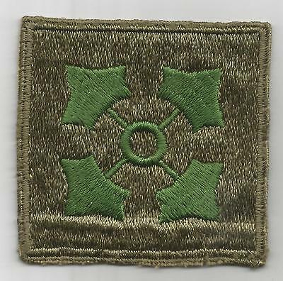 Oversize WW 2 US Army 4th Infantry Division Patch Inv# H203