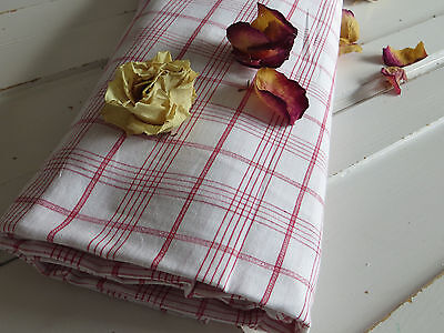 """Cottage Check Duvet Cover Plaid Fabric Single Bed Twin  Mono BR   64 """" by 73 """""""
