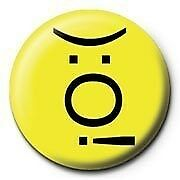 Emoticon Smoker Badge CLEARANCE SALE