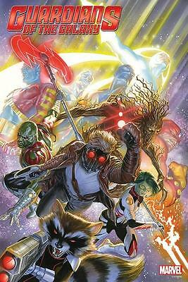 GUARDIANS OF THE GALAXY POSTER  ALEX ROSS 24 x 36 inches (FULL SIZE POSTER)