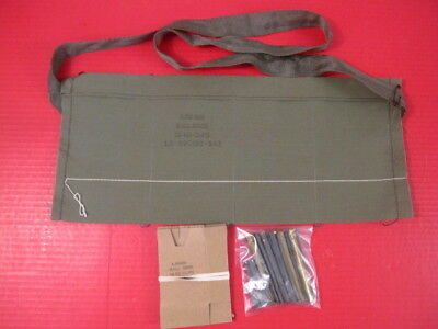 post-Vietnam US Army 4-Pocket Cloth Bandolier Repack Kit for 5.56mm .223 M855