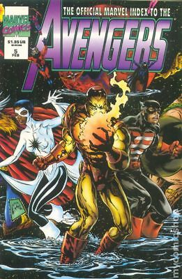 Official Marvel Index to the Avengers (1994) #5 FN STOCK IMAGE