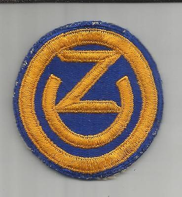WW 2 US Army 102nd Infantry Division Patch Inv# S402