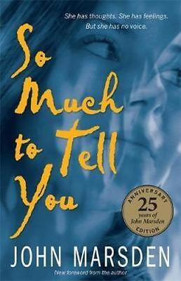 NEW So Much to Tell You By John Marsden Paperback Free Shipping