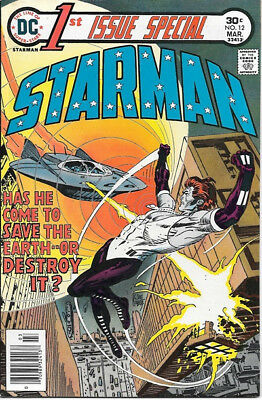 1st Issue Special Comic Book #12 Starman DC Comics 1976 VERY FINE+