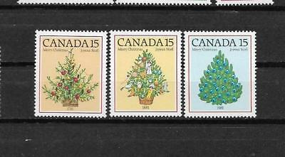 pk31544:Stamps-Canada #900-902 Christmas Set - Mint Never Hinged