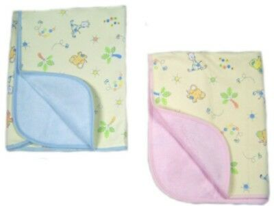 BLUE Jungle Animals  LARGE diaper changing pad waterproof Big Tots