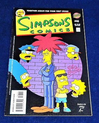 "Bongo Comics  The ""simpsons"" #46""  Comic  1999"