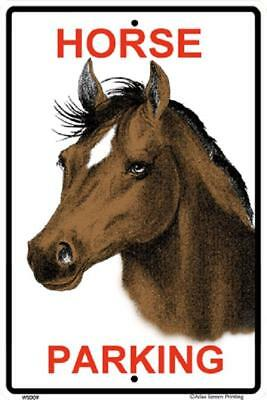 "Horse Parking Metal  Sign 10"" x 15""  made in USA  #WS009"