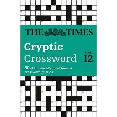 The  Times  Crossword: Bk. 12 (Times Crossword) - Paperback NEW Browne, Richard