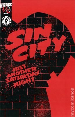 Sin City Just Another Saturday Night (1998) Wizard 1/2 #1 VF- 7.5 STOCK IMAGE
