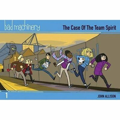 Bad Machinery Volume 1 - Pocket Edition: The Case of th - Paperback NEW Allison,