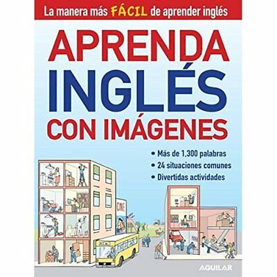 Aprenda Ingles Con Imagenes (Learn English with Images) - Paperback NEW Santilla