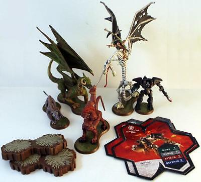 WOTC HeroScape Loose Fig Orm's Return - Heroes of Laur, Complete Expansion  NM