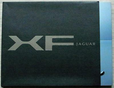 JAGUAR XF Car Press Media Pack Info 2 x Brochures CD ROM 2007