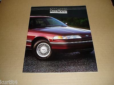 1992 Ford Crown Victoria LX Touring sales brochure dealer car auto literature