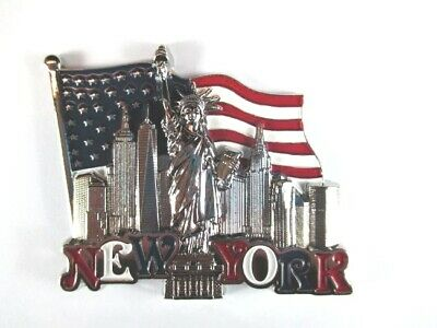 New York Metal Magnet Freedom Tower World Trade Center, of Liberty, Empire