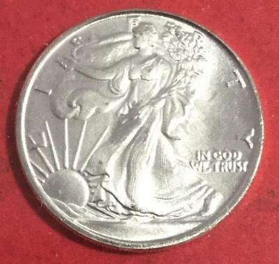 US LIBERTY Walking .999 FINE Silver Mini Round! Old US Coins!