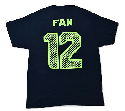 292d63a2d MENS NIKE NFL Seattle Seahawks Bring On The 12 Triblend Shirt NWT ...