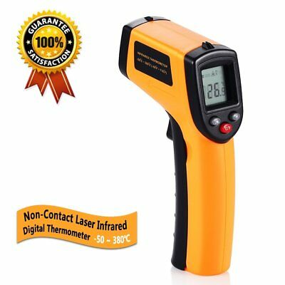 Non-Contact IR Infrared Digital Temperature Gun Thermometer Laser Point GM320 CH