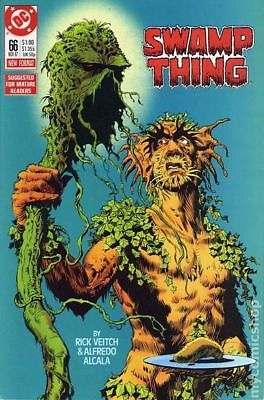 Swamp Thing (1982 2nd Series) #66 FN STOCK IMAGE