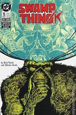 Swamp Thing (1982 2nd Series) #75 FN STOCK IMAGE