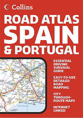 Collins Road Atlas Spain and Portugal,  | Paperback Book | Acceptable | 97800072