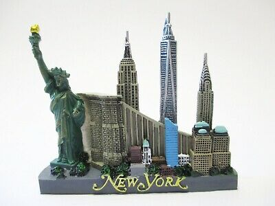 New York Magnet Poly Freedom Tower,Empire,Liberty,Skyline,Financial Center