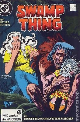 Swamp Thing (1982 2nd Series) #59 FN STOCK IMAGE