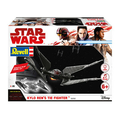 Revell 06760 Star Wars Build & Play KYLO REN'S TIE Fighter (Scale 1:70)  NEW