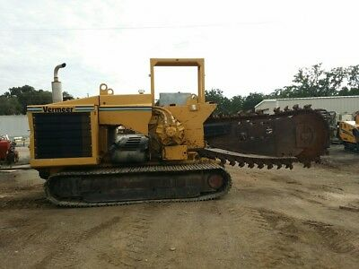 99 Vermeer  T555 Track Trencher