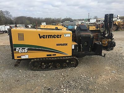 13 Vermeer D6x6 Directional Drill Package  **One Owner **EXCELLENT CONDITION