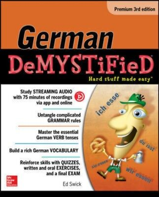 German Demystified Premium Edition, Swick, Ed, 9781259836374