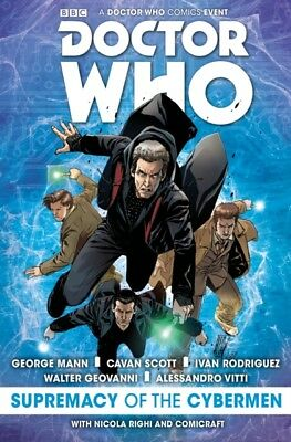 DOCTOR WHO THE SUPREMACY OF THE CYBERMEN, Mann, George, Scott, Ca...