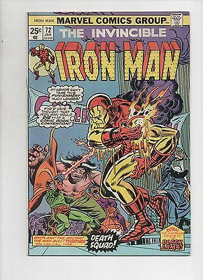 Marvel Comics  The Invincible Iron Man #72  Fine+